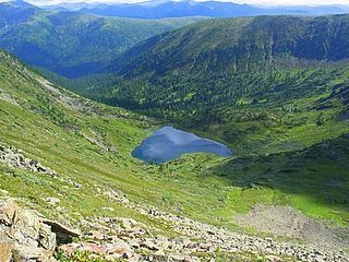Lake Heart, Hamar-Daban mountains