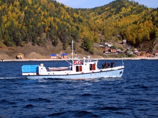 Baikal lake, Listvjanka village