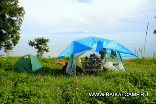 Common place of Baikal Camp